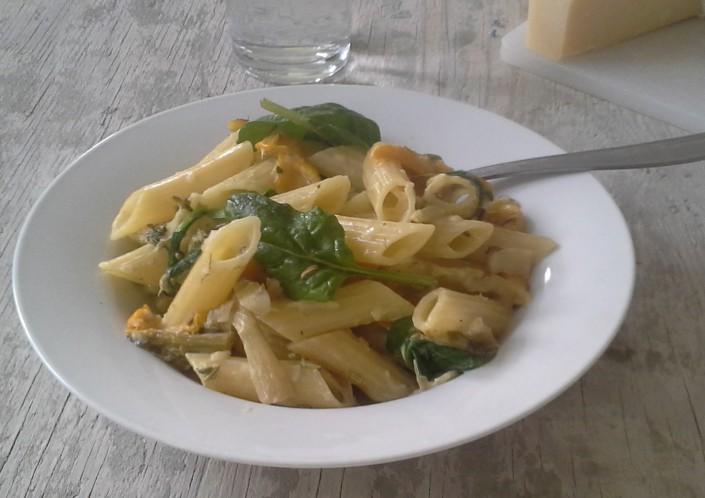 pasta-spinat