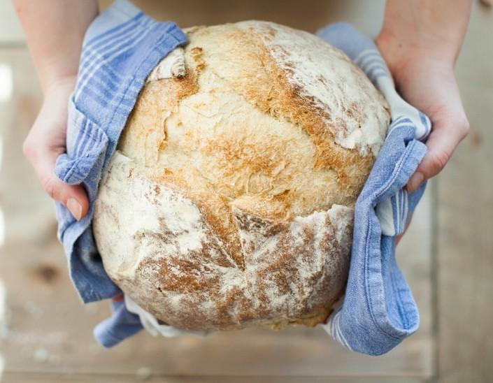nybagt,brød