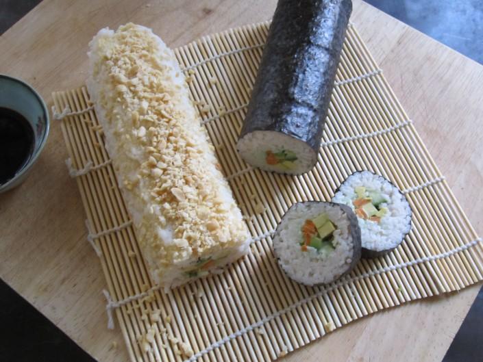 Hjemmelavet, sushi