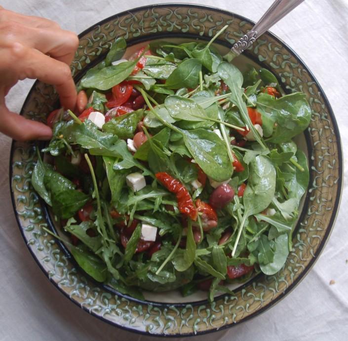 Delikat tomatsalat
